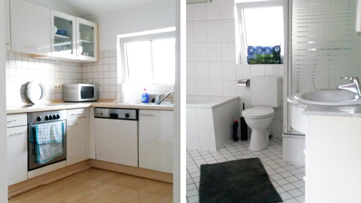 Unterkunft Hamburg Bergedorf Küche und Bad Monteurzimmer Gruppenunterkunft